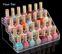 Wholesale Jewelry Floor Displays - Multifunction Cosmetics Jewelry Display Shelf Acrylic Makeup Organizer Lipstick Face Cream Glasses Frame Mask Lipstick Nail Polish Rack
