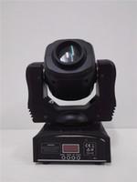 mini luces móviles al por mayor-LED 60W Spot Light DMX Spot Spot Moving 9/11 Channels dj 8 gobos efecto stage lights China Mini LED Moving Head Envío rápido