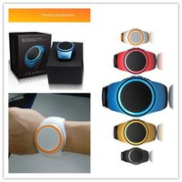 Wholesale Hands Free Sport Mp3 Player - B20 Mini Bluetooth Sport speaker Stylish Smart Watch Design Portable Super Outdoor With Built-in Microphone Hands Free Music Player With TF