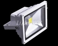 Белый Shell 20W Cool White Led Flood Light 2000 LM High Bright Led Outdoor Projecting Lamp 85-265V