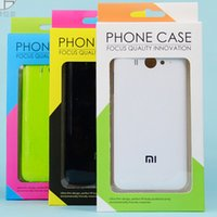 Wholesale Color Plastic Paper - 2016 Dual Color Universal Paper Plastic Retail package Packaging box boxes for phone case iphone SE 5S 6 6S plus Samsung S6 S7 edge