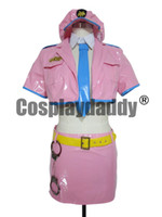 Wholesale super sonico anime for sale - Super Sonico Space officer Sonico Haloween Party Dress Set Cosplay Costume