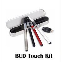 Wholesale bud dry herb vaporizer resale online - Bud Touch Kit CE3 O Pen mAh Vaporizer Wax Pen E cigarettes and Dry Herb Vaporizer Kits With Usb Charger Aluminum Box