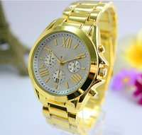 Wholesale Gold Logo Watch - 2016 New Colorful Dial Summer Luxury Fashion Design Ladies Watch Women Full Logo Gold Female Quartz Clock Relojes De Marca Mujer
