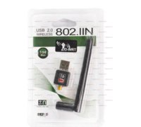150M USB Mini Router WiFi Hot Point Network Compartir Tarjeta de red inalámbrica Adaptador LAN + Antena