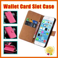 Wholesale magnetic clip wallet - for Samsung Note7 s7 Galaxy S5 S6 S7 Edge iPhone 7 5 SE 6 6s plus Leather Magnetic Wallet Card Slots Stand Case Cover