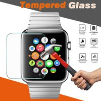 Vidro temperado 9H Premium Explosion Proof Guard Anti-Scratch Film Screen Protector para Apple Watch iWatch Series 1/2/3 38mm 42mm Smart Sport