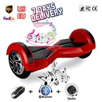 space scooter - SGLEDs UL Hoverboard inch Bluetooth samsung Battery Smart Wheel Balance Board Motorized Skate Electric Longboard Space Scooter LED Lights