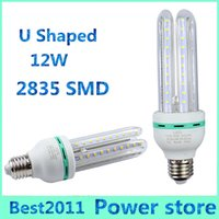Wholesale Maize Lamp - 50PCS E27 B22 12W 2835 LED Corn Light 60leds 2835 smd Bulb Lighting Maize Lamp U Shape 85-265V warranty 2 years