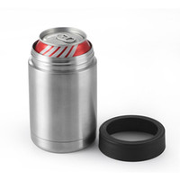 Wholesale 12 Oz Bottle Wholesale - Factory Price New Arrival 12 oz Stainless Steel Mugs Can Mugs Cars Beer Mug Insulated Koozie 12oz Cups in Stock
