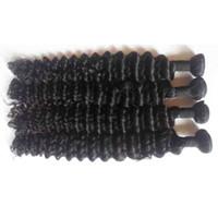 melhor cabelo humano ondulado molhado venda por atacado-Extensão do cabelo humano malaio não processado Fórmula sexy 3 pacotes de onda profunda tecer cabelo humano melhores extensões de cabelo pacotes molhados e ondulados