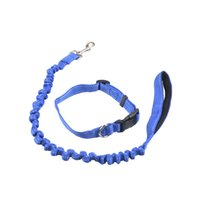 High Quality Dog Leash Outdoor Chain Traction Rope Moda ajustável Loop Slip Pet Snap Training Lead