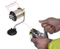Wholesale Spool Spooler - Lightweight Portable Fishing Line Winder Reel Spool Spooler System Tackle Aluminum Tensioner Contorl Fishing Accessory tool