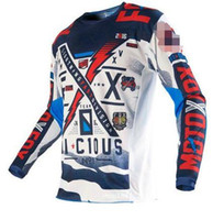 Wholesale Green Fx - 2017 Cycling jerseys ciclismo jerseys fx entrega motocross jersey downhill jersey long motocross shirt camisetas motociclista
