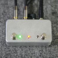 gitarreneffekt pedal marken groihandel-NEU Handgefertigter ABY Gitarrenpedalschalter BoxA / B Combiner Fußschalter TRUE BYPASS! Amp / Gitarre AB