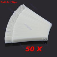 Wholesale Hot Sell x Fan shaped Natural False Nail Art Tips Sticks Polish Display Display Tools price