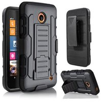 Wholesale Protective Holster Belt - For Nokia Lumia 920 630 635 830 640 640XL 530 730 735 520 Icon 929 930 950 Protective Armor Hard Case Holster Belt Clip