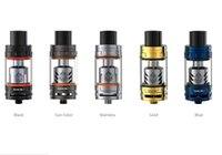 Wholesale Beast Gun - Original Smok TFV8 Beast Tank Blue Gold Gun metal Color 6.0ml Capacity TFV8 Baby Atomizer Fit for Alien Mod