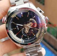 432e30ab588 Novo 2018 Top marca de luxo dos homens de Aço Inoxidável Mecânico Movimento  Automático Watch Sports mens Auto-vento Relógios tag Wristwatche