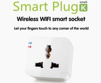 WiFi drahtlose Smart Power Socket-Handy-Fernbedienung Repeater Plug Freie ShippingWholesales