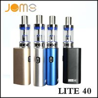 Wholesale gold e cig - Jomotech lite 40w mod kit jomo mini lite e cig box mod vaporizer kits with 40w mod bulit-in battery 3ml Lite tank