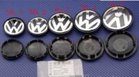 Wholesale Passat Wheel Center Cap - [Fast shipping]100pcs 65mm Car Wheel Cover Badge Wheel Hub VW Center Caps Emblem For VW 2EOS Golf Jetta Mk5 Passat B6 VW 3B7601171