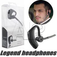 Wholesale Wholesale Legends - V8 Voya Earpieces Bluetooth Headphone Wireless Earphone Handsfree Headphones Headsets 4.0 Legend Stereo V8 Cell Phone For Iphone 7 Plus