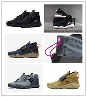 Wholesale Acg Black - High Quality Lab ACG 07 KMTR for smaller color Tavas male brand casual shoes Men Women Running Shoes waterproof automatic magnetic With box