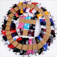 Wholesale Dhl Huf - 100pair DHL Free Men women Huff Sock Maple leaf Socks long fashion sport Socks Long Skateboard hiphop socks Meia women unisex