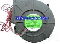 ventilador 24v 12cm al por mayor-Servo 12cm SCBD24Z7 CBDC24B4 24V 8W 2Wire Servidor Ventilador