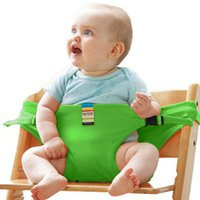 Wholesale Baby Booster Feeding - TAF TOYS Infant Chair Portable Seat Dining Lunch Chair Seat Safety Belt Stretch Wrap Feeding Chair Harness baby Booster Seat