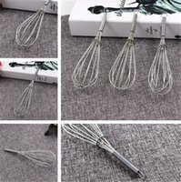 Wholesale new hand mixer - New hand movement snapholder Egg Beater practical Kitchen Supplies household Egg Stir Tools Egg Mixer IA639