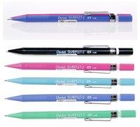 Wholesale Pencil Pentel - Wholesale-Pentel Sharplet-2 A125-P Mechanical Pencil menurut pensil bergerak 0.5mm Japan Black Blue Green Light Blue Pink Color