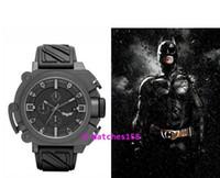 ingrosso orologio di quarzo grigio-Spedizione gratuita WB0001 DZ4243 4244 uomo Batman The Dark Knight Rises Limited Edition CHRONOGRAPH orologio al quarzo quadrante nero grigio Custodia