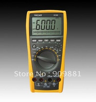 Wholesale Digital Multimeter Large Lcd - VC99 3 6 7 Auto Range Digital Multimeter With Bag Better FLUKE 17B+ Large LCD Multimeters Easy To Operation Free Shipping