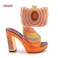 Wholesale Wedding Shoe Buy - Well worth buying new arrival Africa high heel ladies shoes matching beautiful handbag 38-42