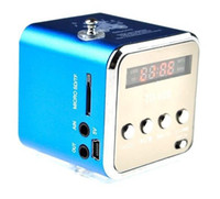 Wholesale Mini Sound Box Boombox Mp3 - Portable MP3 Speakers TD-V26 Boombox Support USB DISK TF Card FM Radio Sound Box Mini Portable Loudspeaker
