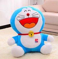 Wholesale Doraemon Cloth - 2016Cute Doraemon a dream doll jingle cat Doraemon doll plush toys birthday gift for men and women to marry pillow free shipping