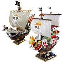 Wholesale One Hot Doll - NEW hot 28cm One piece Going Merry THOUSAND SUNNY action figure toys collection Christmas gift doll