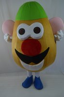 Wholesale Cartoon Head Costume - 2016 New Adult size Mr. Potato Head Mascot Cartoon Costume Toy Story Outfit EPE