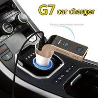 Top Original G7 AUX Auto Ladegerät 4 in 1 Wireless Bluetooth Hände frei FM Transmitter Car Kit MP3-Player SD USB LCD Auto Musik Player