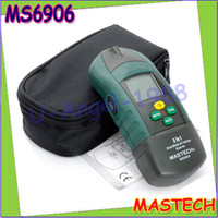 Wholesale Metal Thickness Tester - Wholesale-1pcs MASTECH MS6906 3 in 1 Multi-functional Scanner Stud Metal Detector AC Voltage Meter Wood Thickness Tester For Decoration