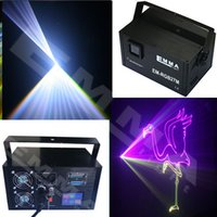 Versão 4000MW Mini Light Stage Laser rgb projecter activada por voz Spotlight Som / Música Ativo equipamento de DJ para o Club Party