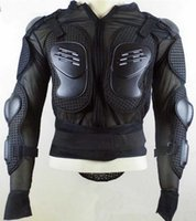 Wholesale Motorbike Body Armor - Top quality motocross jacket coat motorcycle body armor protector CE APPROVED motorbike ATV raptor clothes suit back protector