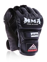 Wholesale Grappling Gloves - adult MMA kickboxing   muay thai   grappling   half finger fighting boxing gloves for heavy   speed bag workouts, shadowboxing