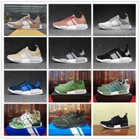 Wholesale Plastic Salmon - 2017 New arrive NMD Runner R1 Mesh Salmon Men Women Running Shoes Sneakers Fashion NMDs Runner Primeknit Shoes size 5-10