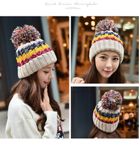 Wholesale Knited Winter Hat - Fashion Knited Hats Multicolors Knit Beanies Winter Sport Beanies Warm football Beanies Football Caps Sports Caps Beanies Athletic Headwears