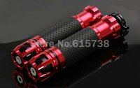 Wholesale Grips Scooters - Motorcycle handle grips aluminum handlebar grip motorbike scooter girp premium handlebar grips with throttle 7 8'' CNC 22MM