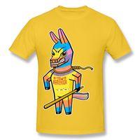 Wholesale Unique Designs Mens Shirts - Colorful angry pony mens t shirt men summer cotton tee shirt unique design print t-shirt short sleeve JAW BREAKER.