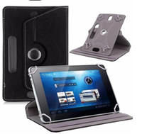 Wholesale Design Cases For Ipad - 50pcs lot Universal 360 Degree Rotating Leather Case for Tablet PC 7 8 10 inch for Mini iPad
